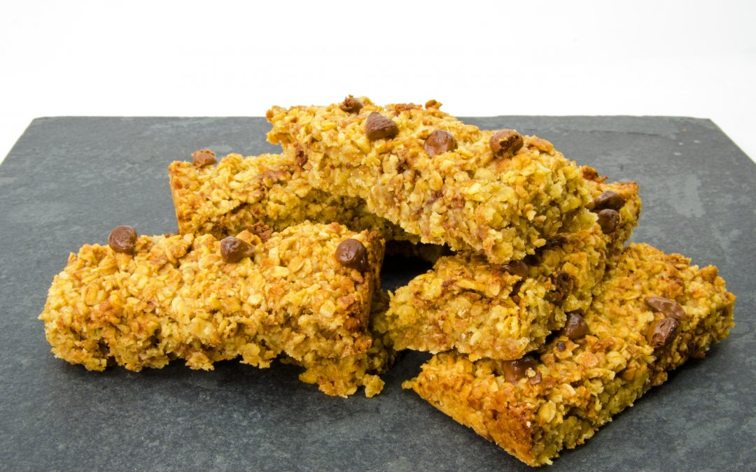 HONEY GINGER FLAPJACKS