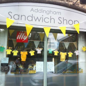 Denholme Gate Honey Stockist - Addingham Sandwich Shop - Ilkley